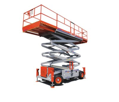 Rough Terrain Scissor Lifts - Cooper Equipment Rentals