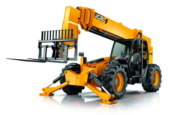 Various Telehandlers and Forklifts for Material Handling