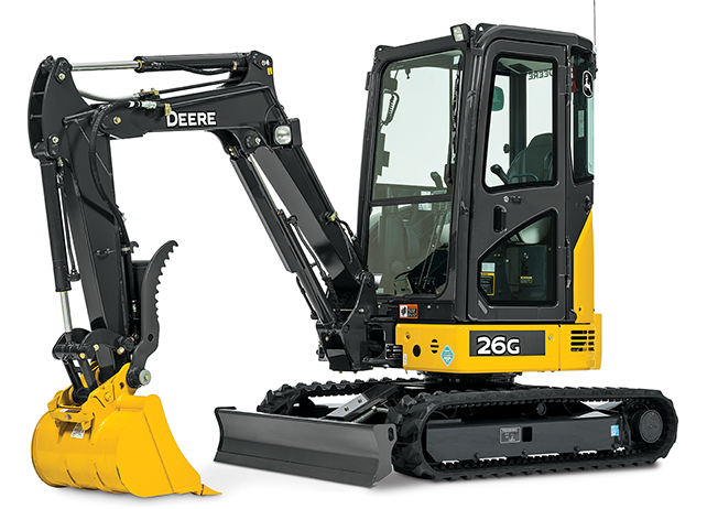 2 6 Ton Excavators Cooper Equipment Rentals