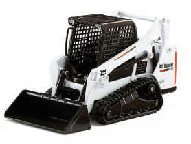 Move dirt, sand, gravel, soil or rocks with a Bobcat Loader