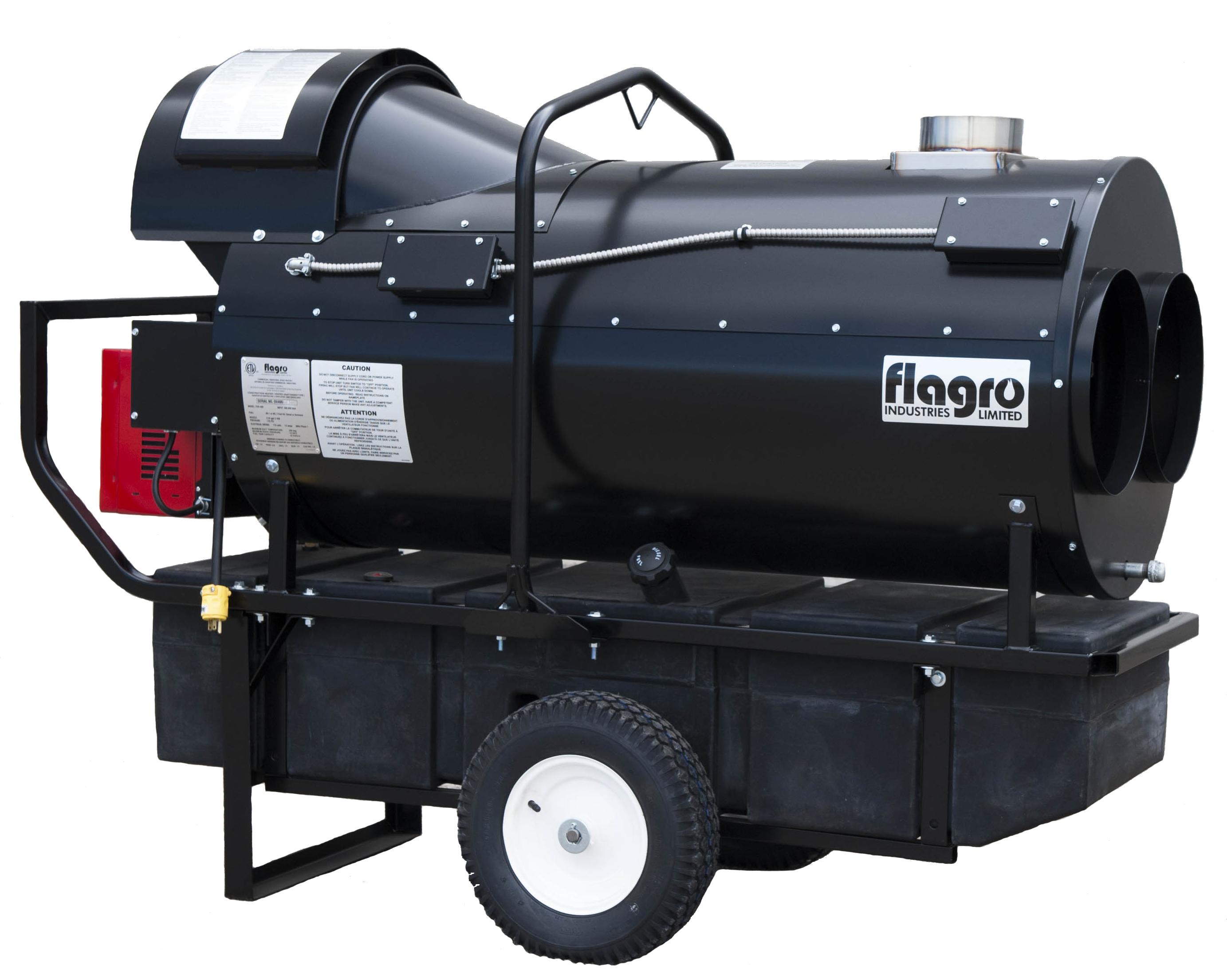 400,000 BTU Indirect Fired Diesel Heater - Cooper Equipment